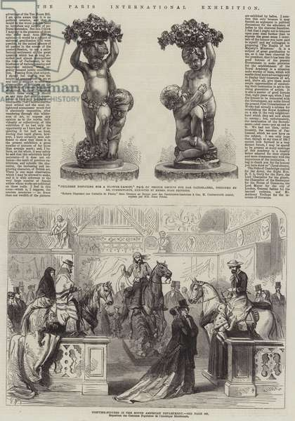 The Paris International Exhibition (engraving)