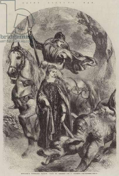 Saint George's Day, England's Tutelary Patron,