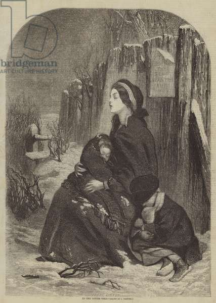 In the Bitter Cold (engraving)