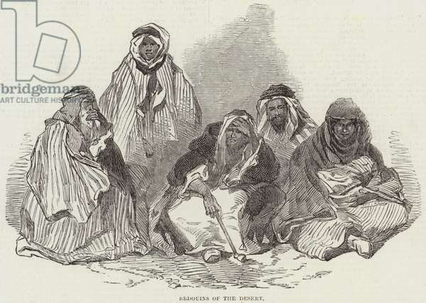 Bedouins of the Desert (engraving)