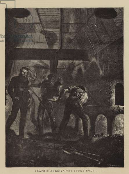 Graphic America, the Stoke Hole (engraving)