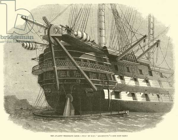 The Atlantic Telegraph Cable, Stern of HMS