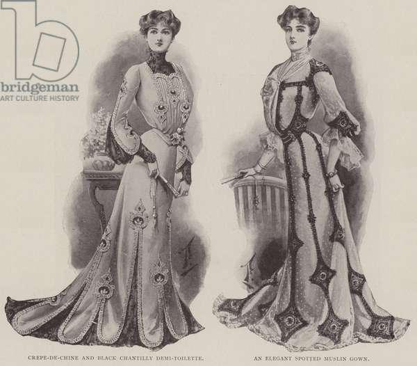 Ladies' Fashions (litho)