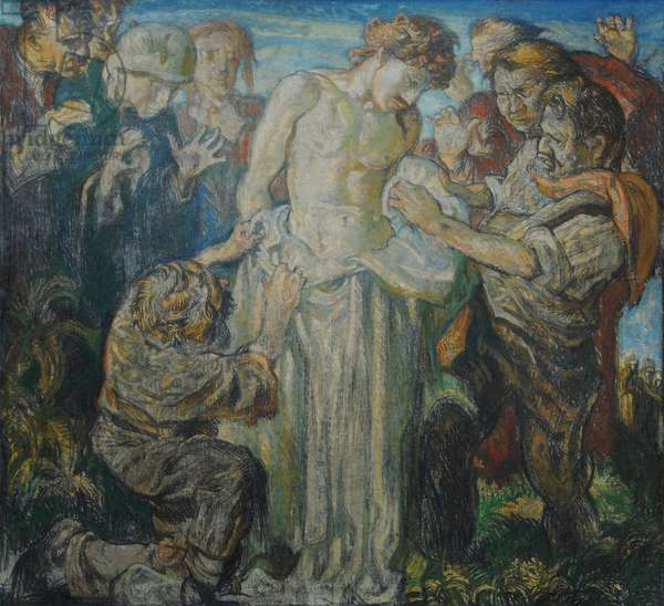 The 10th Station: Jesus is Stripped of His Garments