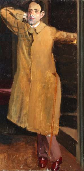 Portrait of James Wood (1889-1975) 1924 (oil on canvas)