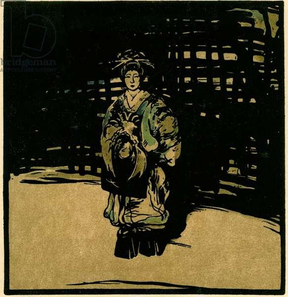 Sada Yacco, c.1902 (chromolitho)