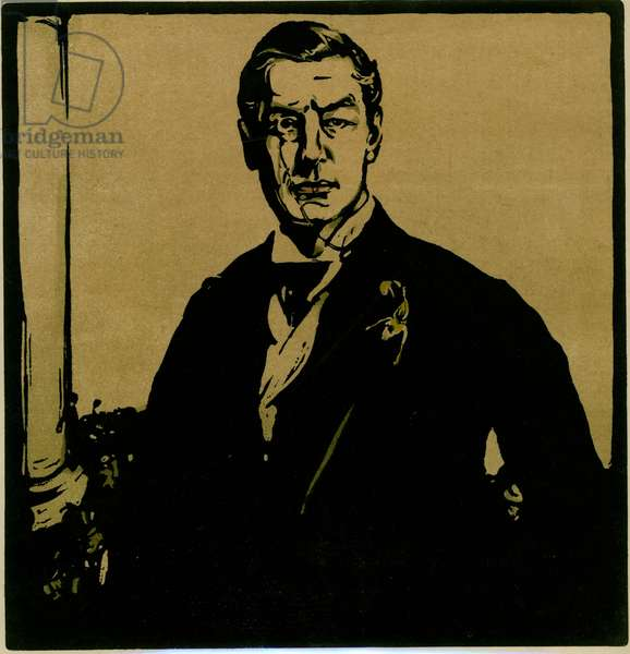 Joseph Chamberlain, c.1903 (colour litho)
