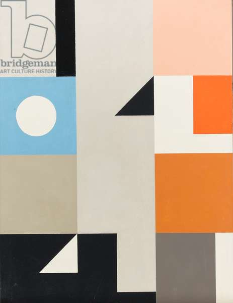 System, 1976-84 (oil on panel)