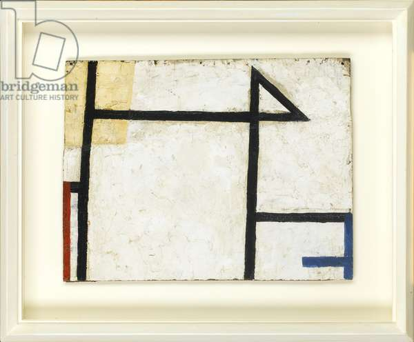Triagular Form, 1956 (oil on panel)