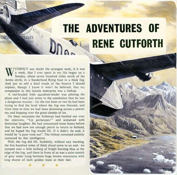 The Adventures of René Cutforth, c.1956 (pencil & gouache on card)