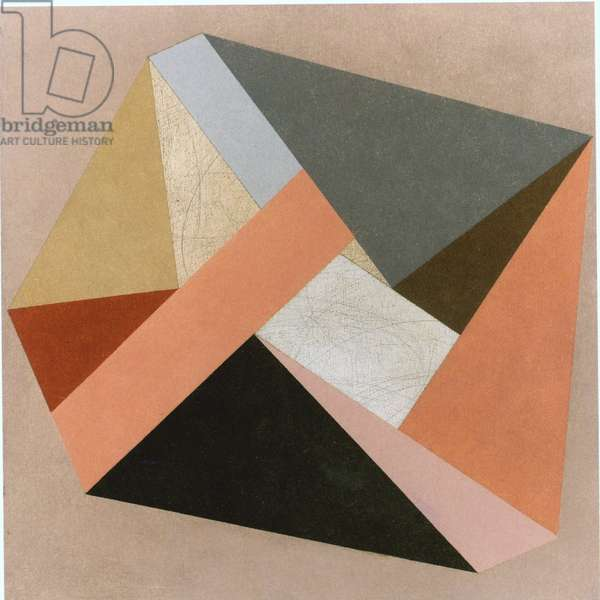 Enveloping V, 1987 (colour litho)