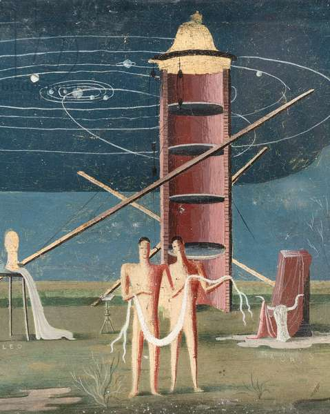 Signs of the Zodiac, c.1931 (tempera on board) (detail of 244512)