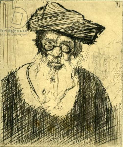 Portrait of a Rabbi, circa 1931