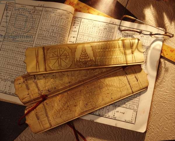 Burmese Astrology Books (photo)