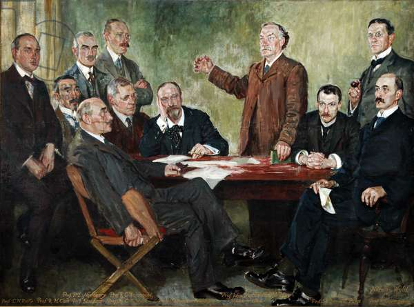 The New Testament Group, 1913-15 (oil on canvas)