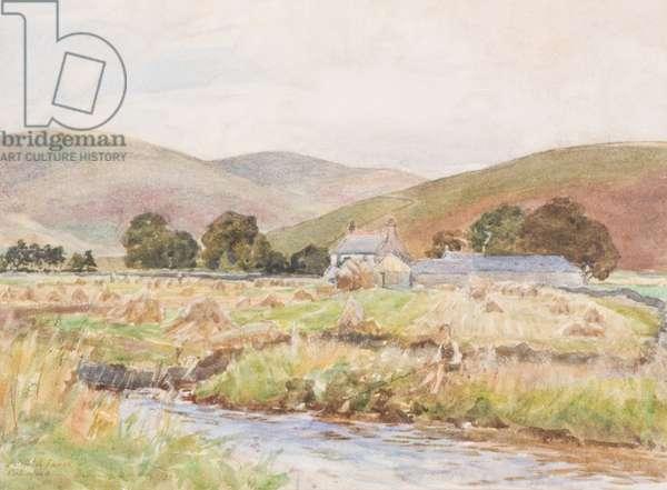 Bellfield Farm, Crawford, 1904 (w/c on paper)