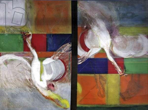 Big Bird, 1975 (oil on canvas)