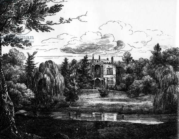 Sketch of Greenbank House, Liverpool (engraving)