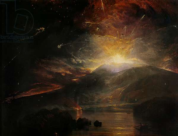 The Eruption of the Soufriere Mountains in the Island of St. Vincent, 30th April 1812