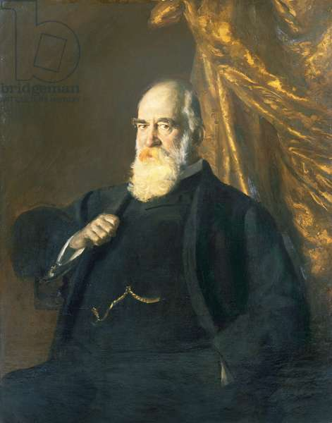 Sir John Tomlinson Brunner (oil on canvas)