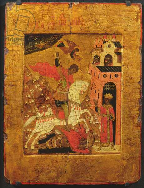 St. George and the Dragon, icon