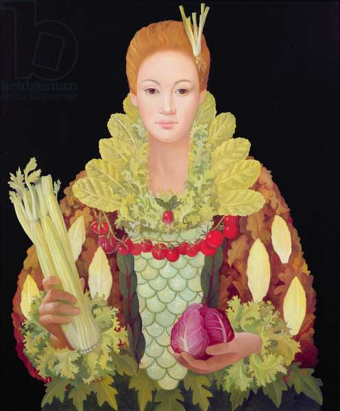 Salad Dressing, 2007 (oil on canvas)