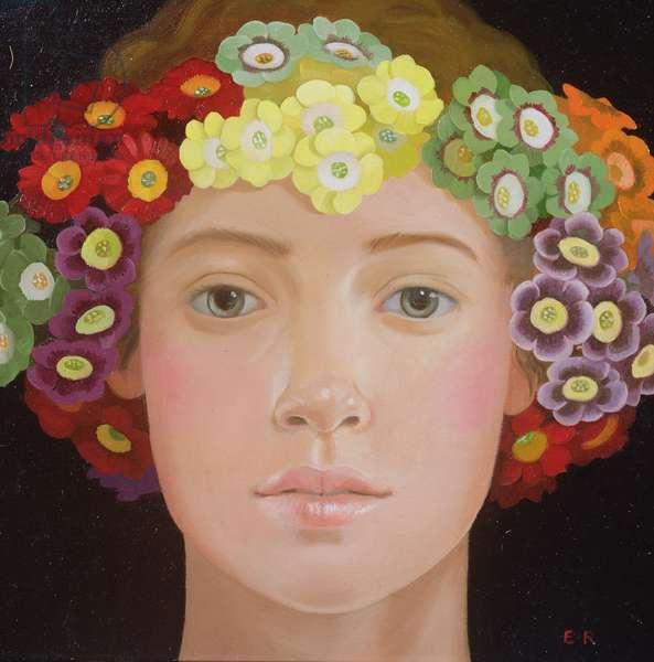 Flora, 2003 (oil on panel)
