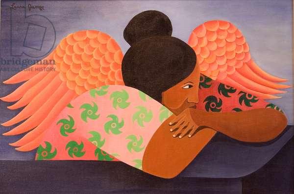 Guardian Angel, 1998 (acrylic on canvas)