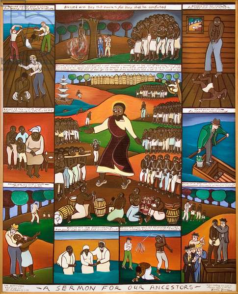 A Sermon for our Ancestors, 2006 (acrylic on canvas)