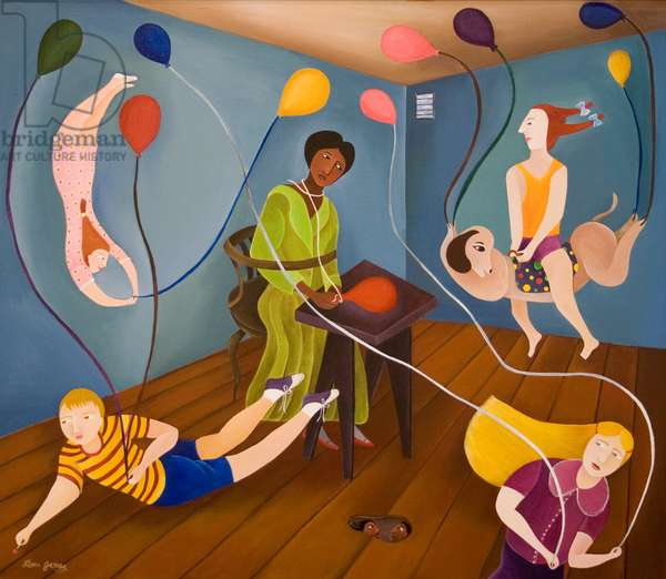 The Party, 2002 (acrylic on canvas)
