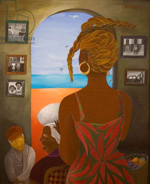 For the Elder Sister, 2005 (acrylic on canvas)