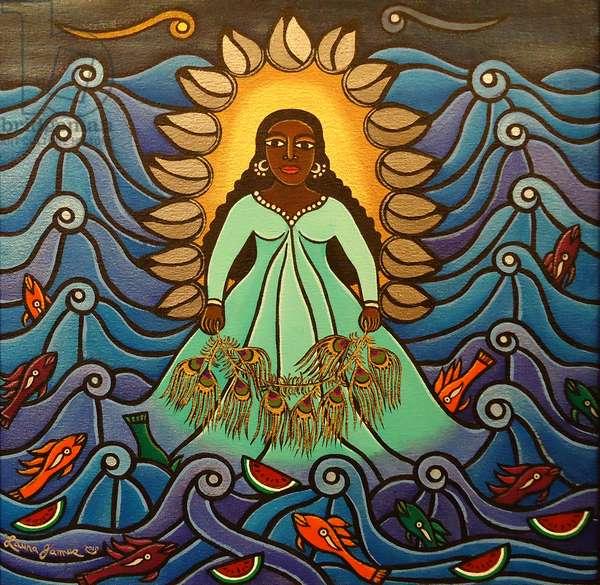 Yemaya, 2010 (acrylic on canvas)