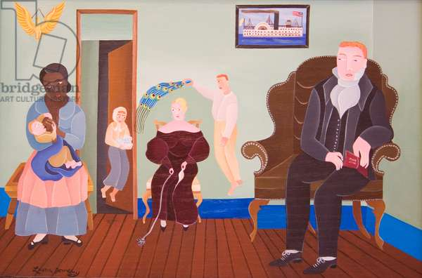 Extended Family, 2006 (acrylic on wood)