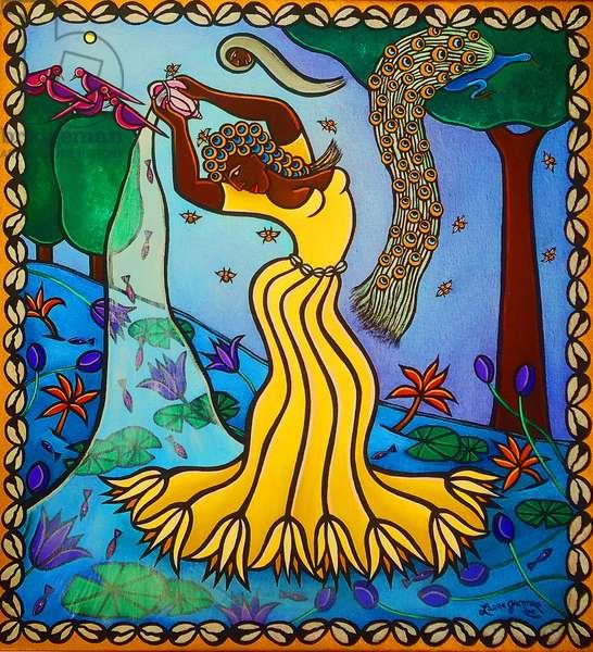 Oshun, 2011 (acrylic on canvas)