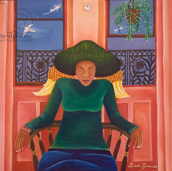 Red Room, 1997 (acrylic on canvas)