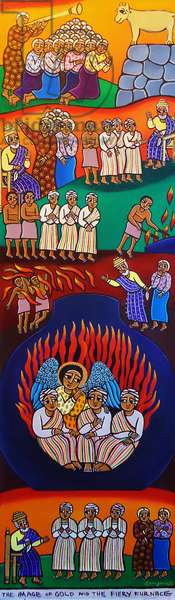 The Image of Gold and the Fiery Furnace