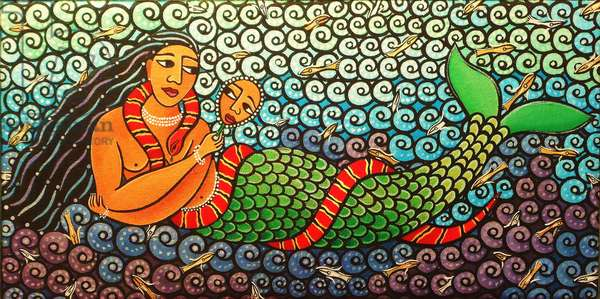 Mami Water, 2011 (acrylic on canvas)