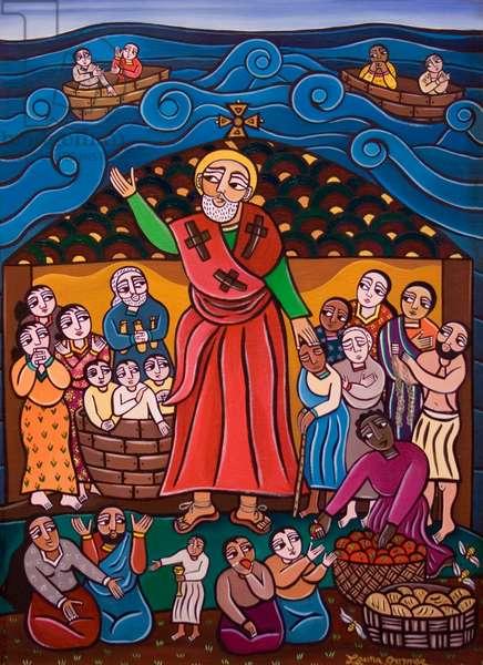 St. Nicholas, 2005 (acrylic on canvas)