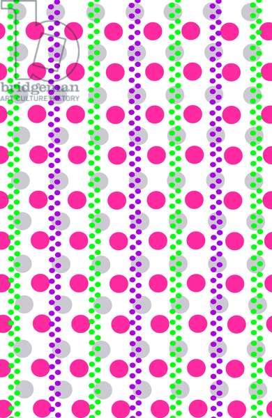 Spotty Stripe, 2014 (digital media)