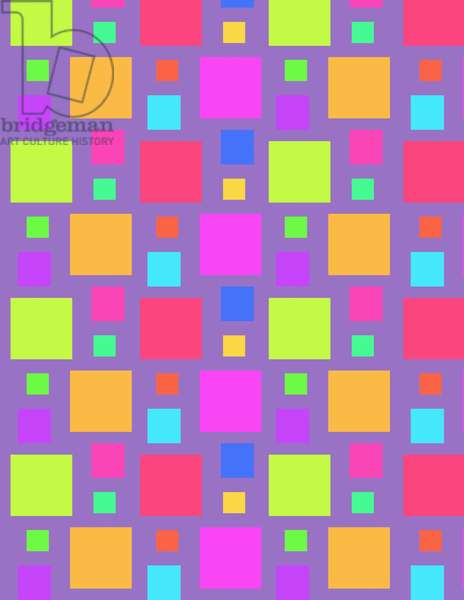 Multicoloured Squares, 2011 (digital)
