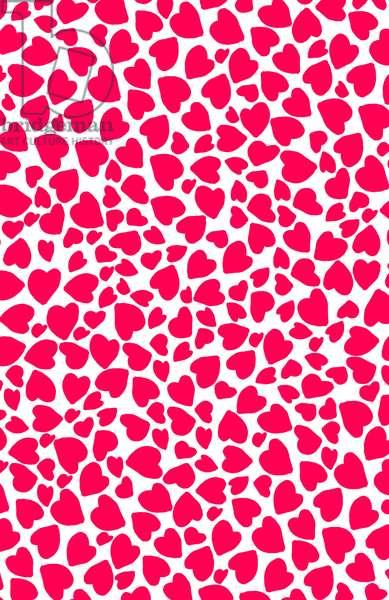 Animal Print Heart, 2014 (digital image)