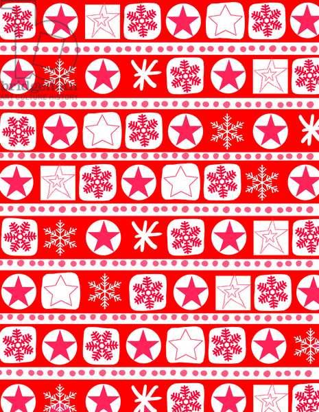 Christmas Wrap Stripe, 2017, Digital Media