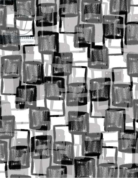 Monochrome Squares (digital)
