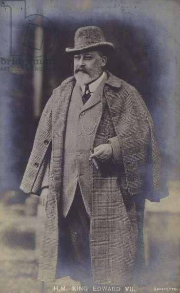 King Edward VII (b/w photo)