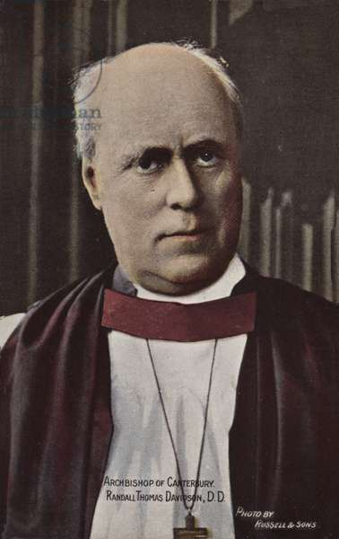 Archbishop of Canterbury, Randall Thomas Davidson, DD (photo)