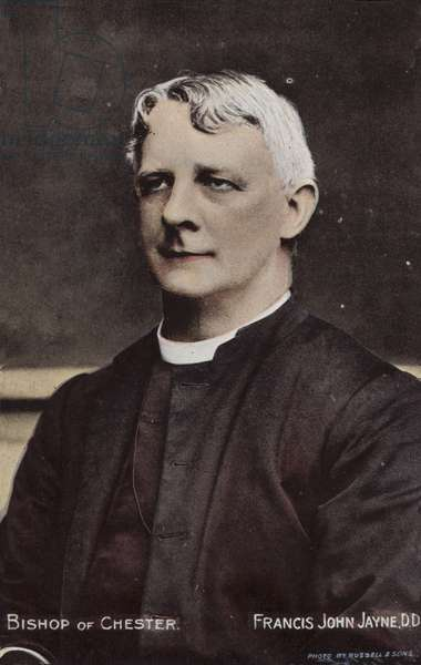 Bishop of Chester, Francis John Jayne, DD (photo)