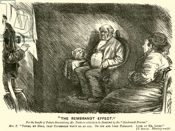 """""""The Rembrandt Effect"""" (engraving)"""