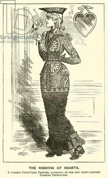 The Knavina of Hearts (engraving)