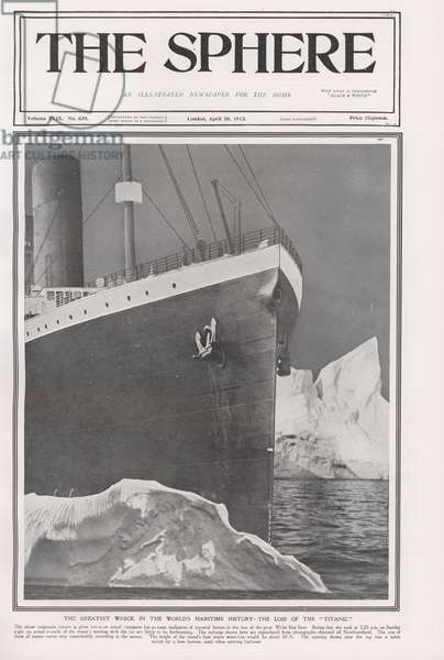 Loss of The Titanic (litho)
