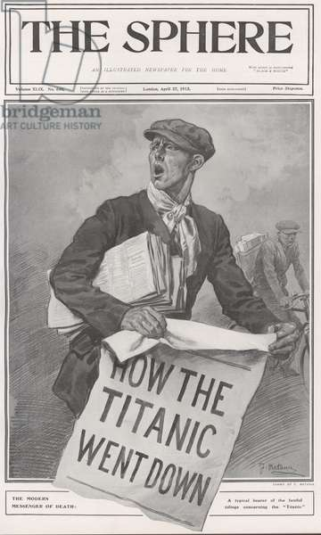News: How The Titanic Went Down (litho)